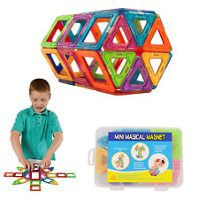 50Pcs Magnetic Building Blocks Construction Block Kids Toy Educational Set Gift