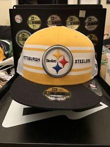 "Pittsburgh Steelers New Era 9FIFTY ""NFL Classic 70's Trucker Style SnapBack Hat"
