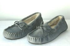 Women's Clarks Audrianna Jule Moccasin Slippers  Cognac Size: US/11