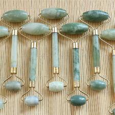 Natural Stone Guasha Facial Massage Tool Face Neck Skin Roller Massager Rapture