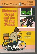 Nate the Great and the Fishy Prize Marjorie Weinman Sharmat/Marc Simont PB 1988