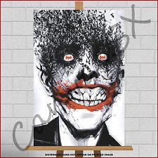 Batman The Joker Large Framed Box Canvas Print Picture Poster Abstract Pop Art