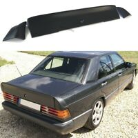 Rear Trunk Spoiler 3 Piece Wing Lid Ducktail (Fits Mercedes Benz W201 190 AMG)