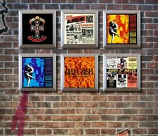 Set of 6 Silver Vinyl Record Wall Display Frames to Showcase Your Albums