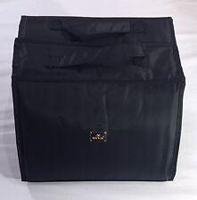 NEW Joy Mangano Extra Large XL Better Beauty Case BLACK Cosmetics TRAVEL
