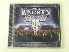 LIVE AT WACKEN 2013 - Candlemass/Anthrax/Sabaton/Motorhead - 2 CD NUOVO!SEALED!