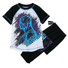 NWT Disney Store Black Panther Boys Pajama Set 5/6,7/8