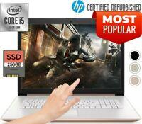 "HP 17.3"" TOUCH Intel Core i5 3.60GHz 256 SSD Drive 8GB Ram DVD+R Powerful Laptop"