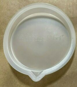 """Single Pampered Chef Silicone Prep Bowl Lid for 3-3/8"""" Opening"""