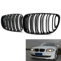 Pour BMW 1 Série E81 E87 E82 E88 Brillant Noir Grilles Avant Grille Performance