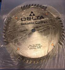 """Saw Blade Delta 35-616 10"""" 60 T Carbide Tip (w-1-7-)"""