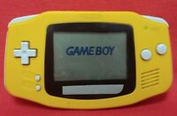 Nintendo Game Boy Advance GBA Console Orange Tested Works Japan Model AGB-001