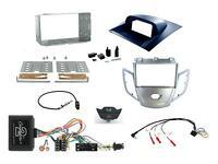 Kit Complet 2 din Ford Fiesta MK6 2010-2012 Argent B Commandes Volant & 4