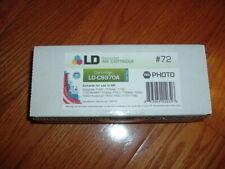 HP-72 Photo Black (PK) Reman. ink cartridge.