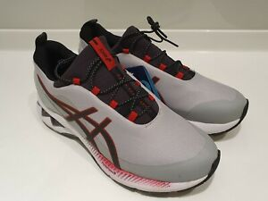 Asics Gel-Kayano 27, size UK 8 EU 42.5 Brand New With Tags - Grey/Red