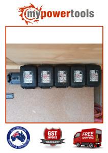6 x Makita Power Tool Li-Ion Cordless 18V Battery Mount Holder Storage BL1860B