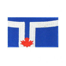 CITY OF TORONTO FLAG IRON-ON PATCH CREST BADGE.. NEW