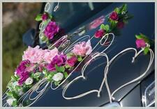 wedding car decoration, ribbon, bows, OLA ,prom limusine decoration, celebration