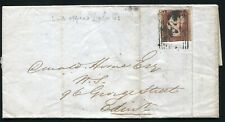 SCOTLAND LYBSTER 1845 VICTORIA ENTIRE LETTER