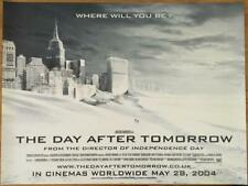 The Day After Tomorrow - Original UK British Quad Poster 40x30 inches - Snow