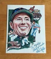 Bob Feller Cleveland Indians HOFer Signed Autograph 8x10 Photo #1