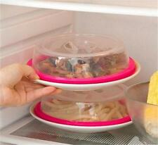Safe Microwave Food Cover Plate Dish Cooking Kitchen Reusable Airtight Lid -6A