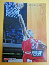 1993-94 Hoops Supreme Court #SC11 Michael Jordan Chicago Bulls NM+ Insert Card