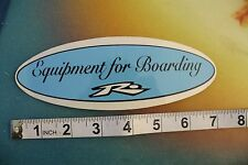"""New listing Rusty R dot Equipment For Boarding blue ~7"""" Vintage Surfing Decal Sticker"""