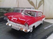 Coches, camiones y furgonetas de automodelismo y aeromodelismo rojos IXO Ford