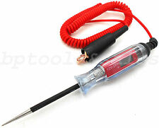 12 - 24V Auto Electric Circuit Tester Test Light Car Circuit Tester Truck Tester