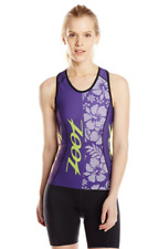 Zoot - Women's Performance Tri Team Racerback - Purple Haze/Spring Green - Large