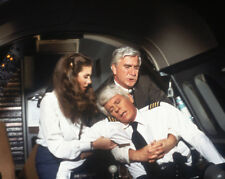 Airplane! photograph - L1285 - Julie Hagerty, Leslie Nielsen and Peter Graves