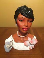 "Cameo Girls Head Vase Celeste 1965 ""Moonlight & Pearls"" MIB FREE SHIPPING"
