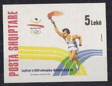 Albania 1992 Bf 96 giochi olimpici Barcellona 82  Mnh