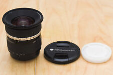 Konica Minolta AF 17-35mm 2,8-4.0 D Objektiv, Sony Alpha, TOP, Händler