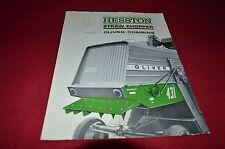 Hesston 431 Straw Chopper For Oliver Tractor Combine Dealer Brochure DCPA8