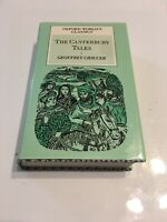 The Canterbury Tales 1985 - Oxford World's Classics Chaucer HC/DJ Ships Free