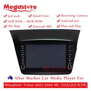 """9"""" Quad Core Android 10.1 Car Media Player GPS For Mitsubishi Triton 2007-2009"""