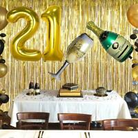 10 Pcs 32'' Gold Black Number Latex Balloons Wedding Birthday Party Decorations
