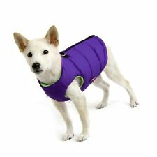 New listing Gooby - Padded Vest, Dog Jacket Coat Sweater with Zipper Closure and Leash Ring