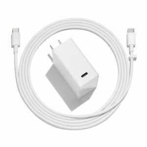 US 45W Type C Wall Charger USB-C Power adapter & 6ft cable for Google Pixelbook