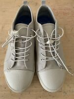 Greats Wilson Canvas Sneakers Men's US 9 UK 8.5 Lace Up Casual Shoes Comfy EUC
