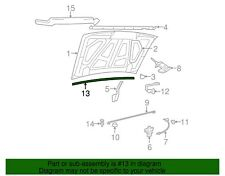 NEW OEM Ford Hood Seal to Cowl 8L5Z-1002824-A Ranger 1984-2011 Explorer 1991-01