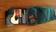 Two Pairs of Ducks Unlimited Prize Pintail Socks Dark Green Sock size 10-13