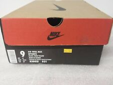 Nike air total max uptempo original box ONLY from 97 rare 830015 031 mens 9