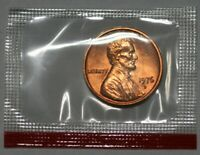 1976 D Lincoln Memorial Cent Choice BU Penny US Coin In Mint Cello