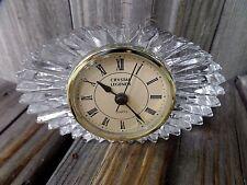 Crystal Legends Desk Clock