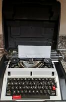 Vintage Swintec 1200 Mechanical Typewriter Tested & Working w/case missing cover