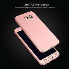 NUOVO 360 ° Ibrida Rigida Custodia per Samsung Galaxy S6 Rose Gold in bundle