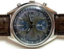 SEIKO 6138-8020 chronograph automatic-winding watch panda Patina dial tropical